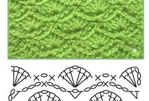 Crochet Stitches / by Charmed By Ewe