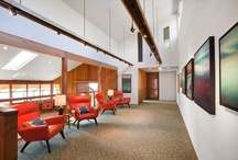 Fireside Room and Spindrift Gallery / by Sea Ranch Lodge
