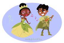 La princesa y el sapo / by alexa mata