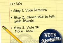 #VoteBrewers / by Milwaukee Brewers