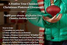 A Festive Dream with Tree Classics / Fulfill your dream of a festive Tree Classics Holiday season! / by Tree Classics