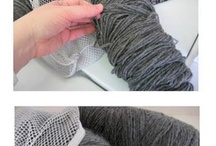 knitting and crochet projects / by ELOISE VASQUEZ