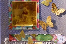 Inspiring scrapbook layouts / by Marcy Gowen
