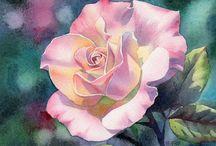 Paintings - Flowers/Plants / by Cheryl N