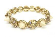 Rhinestone Bracelet / by Hot Buckles and Fashion Apparel