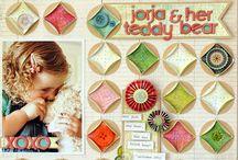 scrapbook page ideas / by Sherren Adams Tripp