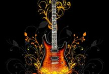 Art featuring guitars, lutes, etc. / by Rochelle G