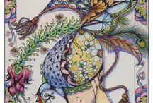 Zentangle_doodling / by MizzMay