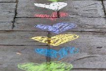 Chalk & Chalk Board / by Shelly Smith