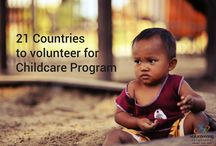 21 countries to volunteer for Childcare program / If you love being with kids, we like to show you 21 countries where you can volunteer for children / by Volunteering Solutions