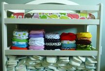 Cloth Diapers / by Mary Pillow