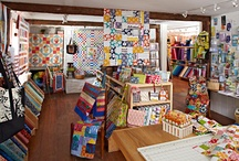 Quilt Shops We <3: East / Check out one of these quilt stores next time you're on the East Coast. / by American Patchwork & Quilting