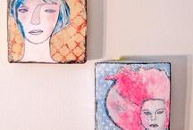 Wall art ideas / by Jenny Mick