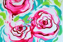 Art - Acrylic 1 / by J. Lynn Martin —Author