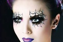 Halloween makeup / by Audrey Whitlock
