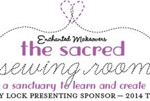 Sacred Sewing Room / Starting this June, Enchanted Makeovers is launching a National Tour at selected shelters in five cities throughout the country. Each shelter will be given a special room–The Sacred Sewing Room–equipped with Baby Lock sewing machines.  www.SacredSewingRoom.org / by Baby Lock