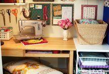 craft room / by Judy Gromatzky