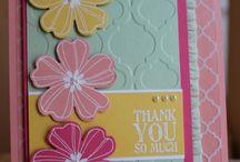 SU Flower Cards / by Sabine Herrmann