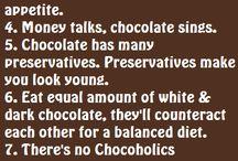 Chocolate / by Sharon Sahan