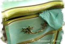 furniture painting  / by Vivian Falconary