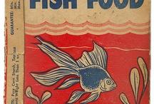 FISH FOOD Labels / by Sprocket Design
