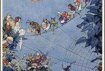 Art - Children / Art featuring children and Fairy stories.  / by Barbara
