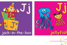 Letter J / by Marlisa Osborne Moura @ All About Kids