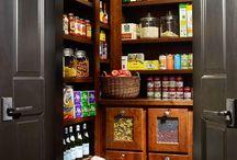 Kitchen Pantry ideas / by Lori Brock Designs