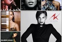 "Alicia Keys / by Yolonda ""YoYo"" Thomas"