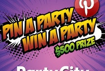 Party City's Pin A Party Win A Party Contest / by Michele Malone