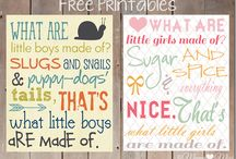 Printables / by Cindy Cochran-Clift