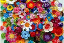 Crochet flowers / Crochet flowers / by Joan Donald Walmsley