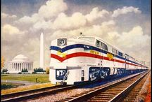 Trains... model, toy, and real / by William Raley