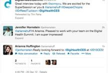 Highlighted Tweets / A list of inspiring tweets at the www.digitalhealthsummit.com / by Digital Health Summit