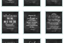 Printables / by Avonlea Hanson