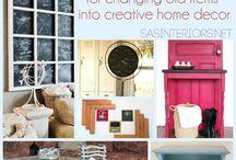 Inspiration - DIY Upcycle Ideas / by SAS Interiors Jenna Burger