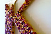 Cork Letters & Cork Decor / Wine corks used in creative home decor! / by CraftCuts