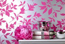 WALLcoverings / Wall paper / by Maria DeGange