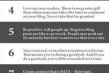 Blogging Tips / by Contenteur