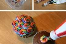 Baking, Decorations for Cakes /Cupcakes /etc.. / I am always looking for the good working pins, but sometimes it happens that I discover the not so good ones afterwards. For that I appolegize up front. Happy Pinterest..and thanks for sharing... / by Gerry Teuben