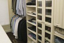 Home - Closet Organization / by Stylish-Home-Living