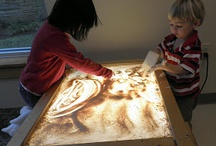 ACTIVITIES - LIGHT TABLE / Also sensory bins, since mine sit in a table and are used with the light table. / by Lynn Kistler
