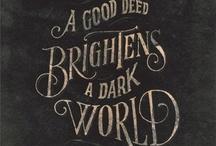 Words of wisdom / by Charlynn Driscoll