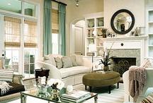 living room / by Cecilia Popkowski Jones