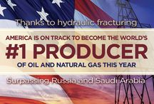 Energy Reality / America's oil and natural gas industry is surging thanks to advancements like hydraulic fracturing and horizontal drilling.  / by Energy Tomorrow