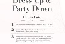 """Dress Up & Party Down"" / getting ready for a party / by Jennifer Essad"