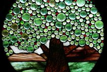 Stained Glass & Mosaics: Trees / by Lisa Huff