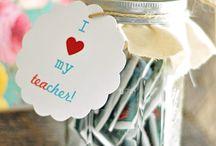 Teacher gifts  / by Jennifer Sawyer