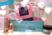 Inside a Beauty Box / GlossyBox, Ipsy, BeautyBox5, PopSugar, Cravebox. *All my birchbox & influenster pics are on seperate boards.* / by Elisha