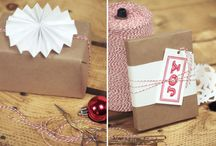 Gifts and wrapping / by Candy Smith Cobb